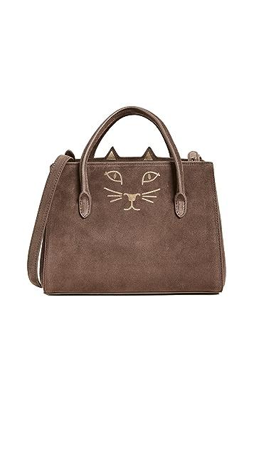 Charlotte Olympia Feline Petit Poitier Bag