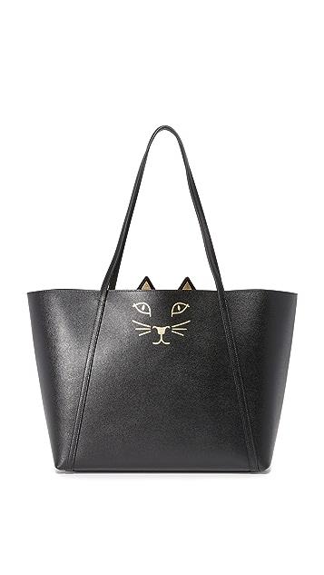 Charlotte Olympia Feline Shopper Tote