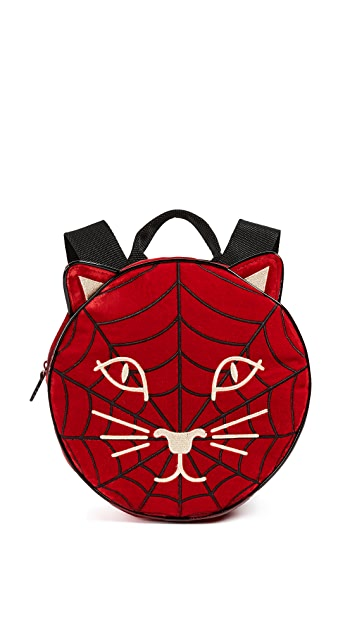 Charlotte Olympia Incy Spiderweb Backpack