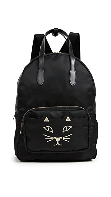 Charlotte Olympia Purrrfect Backpack