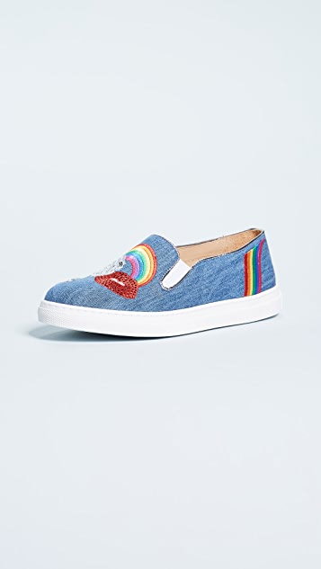 Charlotte Olympia Alex Slip On Sneakers