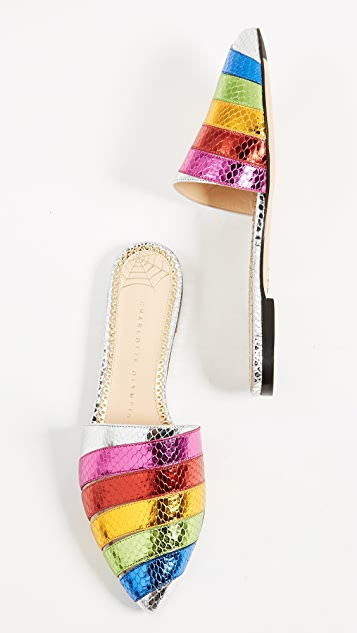 Charlotte Olympia Technicolor Slides