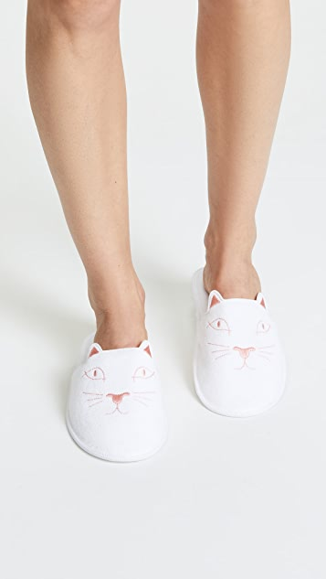 Charlotte Olympia House Cats Slippers