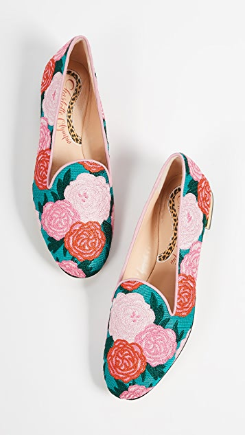 Charlotte Olympia Peony Loafers