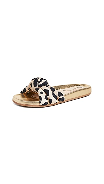 Charlotte Olympia Dylan Slide Sandals