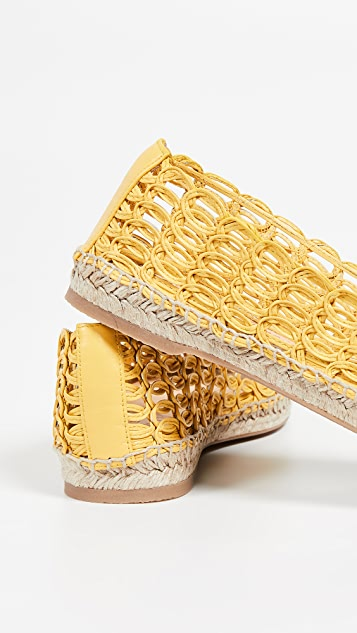 Charlotte Olympia Woven Espadrilles