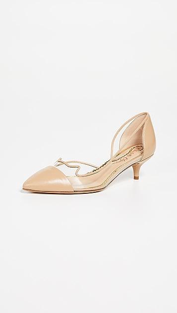 Charlotte Olympia Kitten Heel Pumps