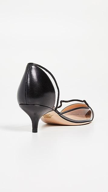 Charlotte Olympia Туфли-лодочки на каблуке «рюмочка»