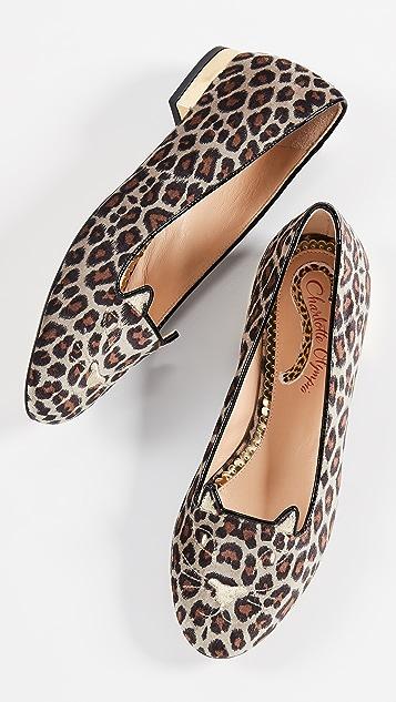Charlotte Olympia Обувь на плоской подошве Kitty