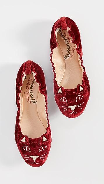 Charlotte Olympia Kitty 芭蕾舞平底鞋
