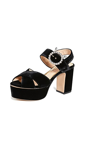 Charlotte Olympia Aristocat Sandals