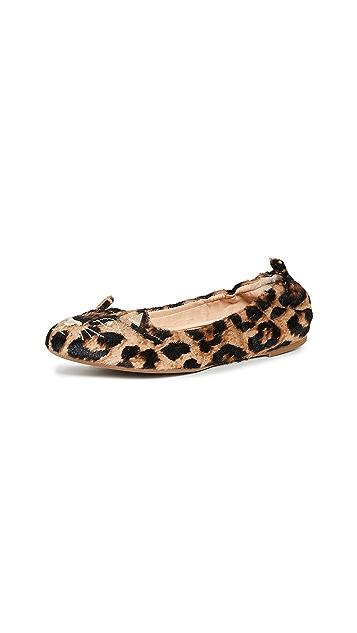 Charlotte Olympia Kitty 柔软芭蕾舞平底鞋