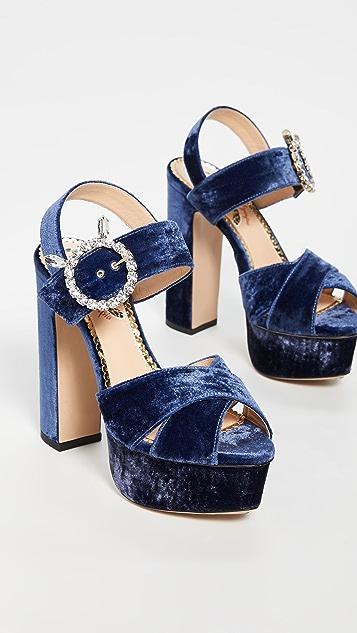Charlotte Olympia Aristocrat Tall 厚底凉鞋