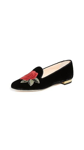 Charlotte Olympia Обувь на плоской подошве Rose