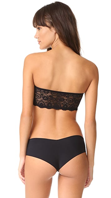 Commando Double Take Collection Lace Bandeau