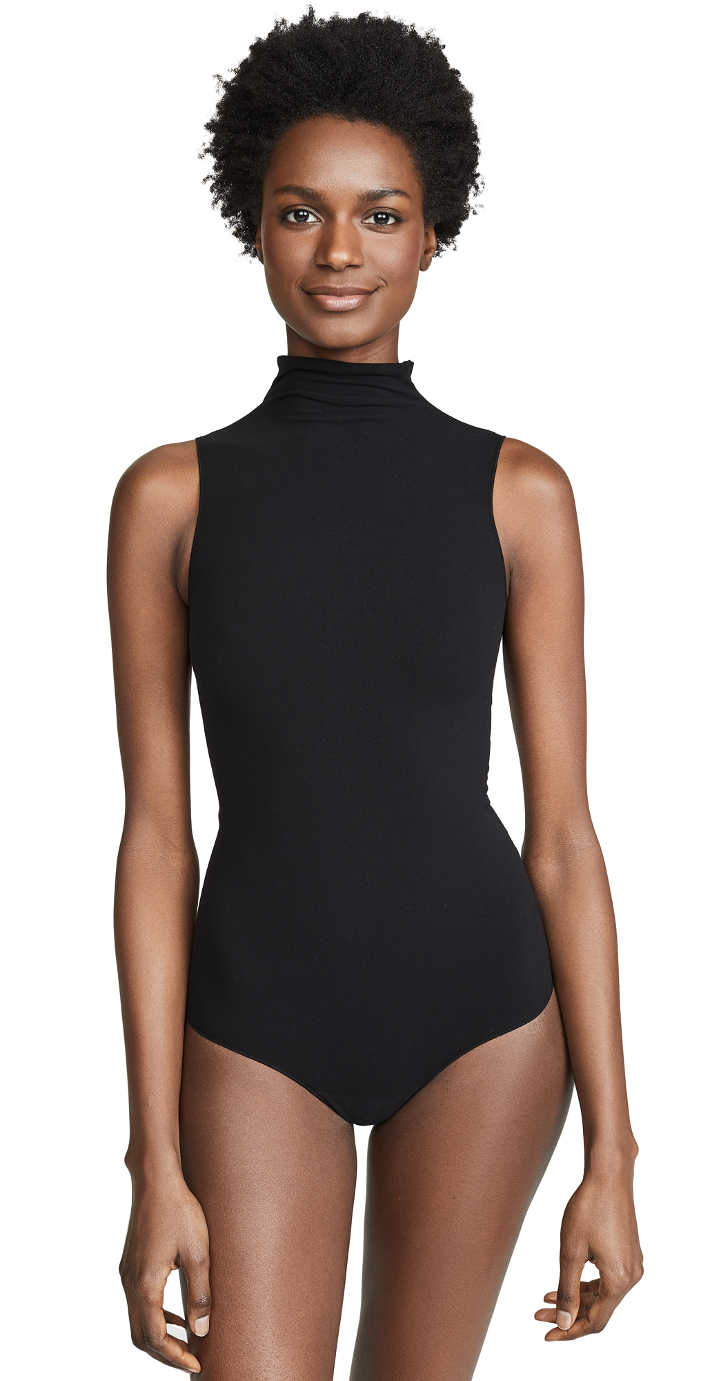 Commando Mockneck Sleeveless Bodysuit