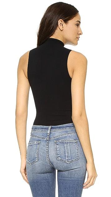 Commando Mockneck Sleeveless Bodysuit