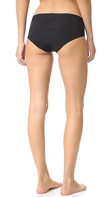 Commando Perforated Bikini Briefs