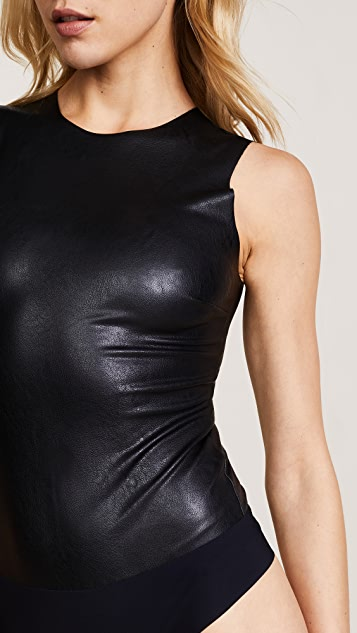 Commando Faux Leather Bodysuit