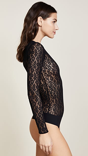 Commando Floral Lace Bodysuit