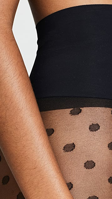 Commando Polka Dot Sheer Tights