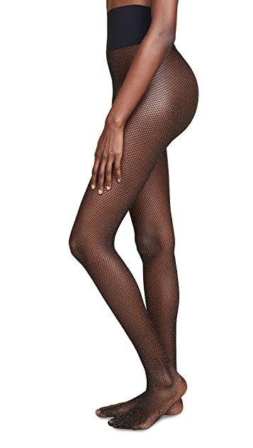 Commando Glitter Fishnet Tights