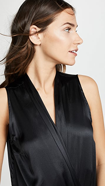 Commando Silk Wrap Bodysuit