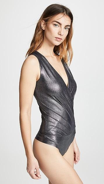 Commando Sparkle Wrap Bodysuit