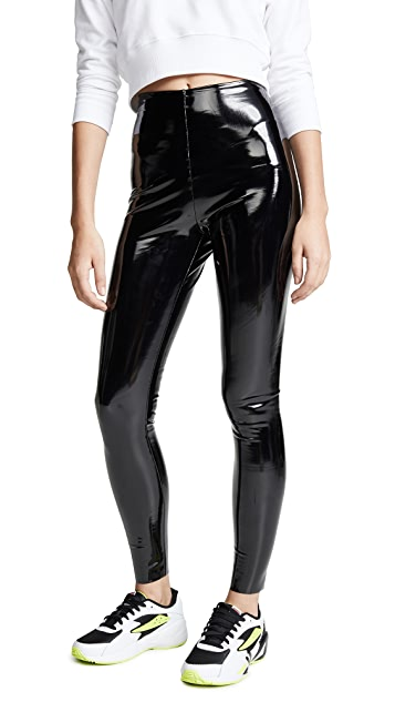 Commando Faux Patent Leather Perfect Control Leggings