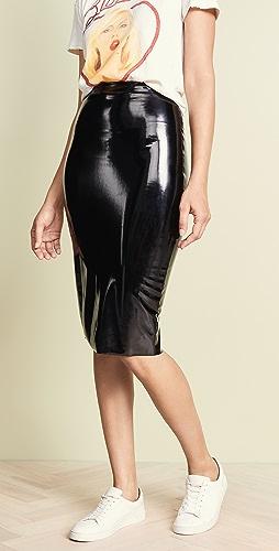 Commando - Perfect 漆皮中长半身裙