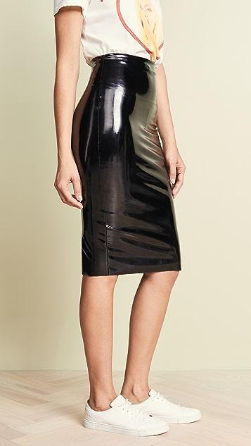 Commando Perfect Patent Midi Skirt
