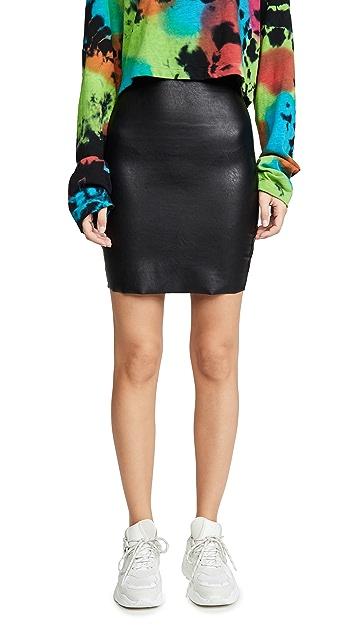 Commando Faux Leather Mini Skirt
