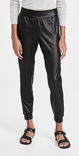 Commando - Faux Leather Joggers