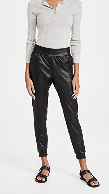 Commando Faux Leather Joggers