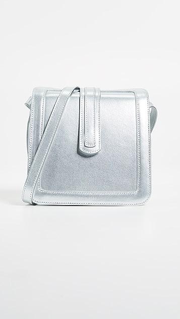 Complet Jade Cross Body Bag - Silver