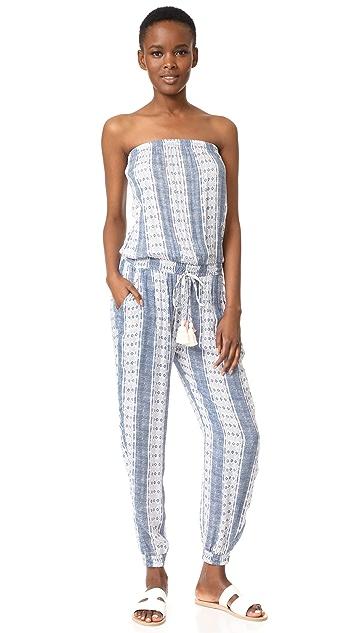 coolchange Brooke Jumpsuit Pacific Stripe