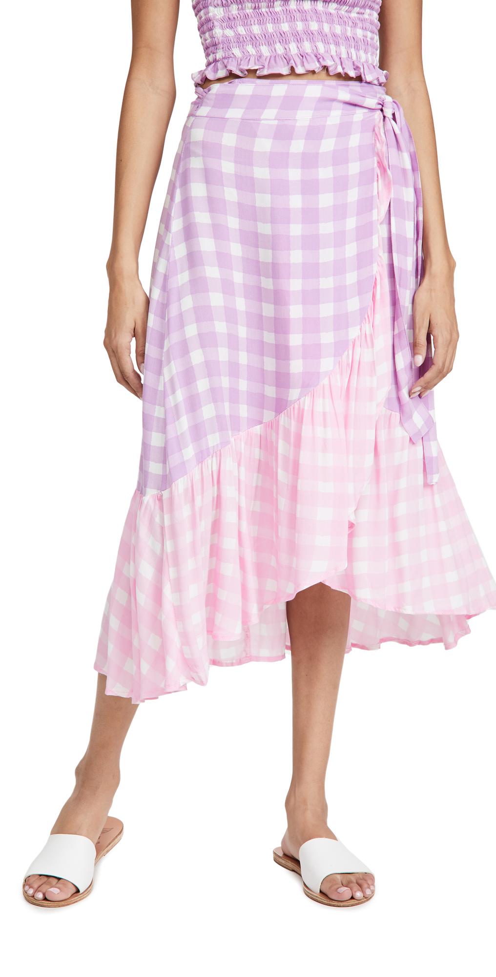 coolchange Gingham Cecilia Skirt