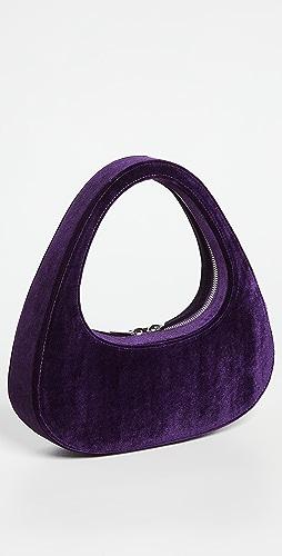 Coperni - Velvet Baguette Swipe Bag