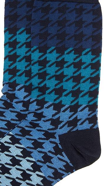 Corgi Gradient Herringbone Socks