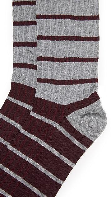 Corgi Stripe Socks