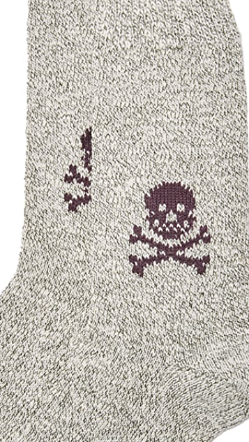 Corgi Heavyweight Skull Socks