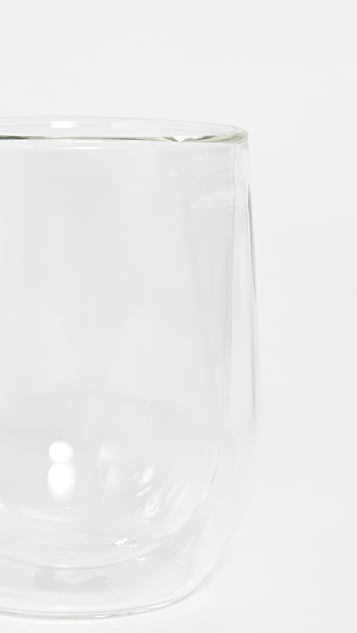 Corkcicle Double Walled Stemless Glass Wine Set