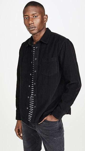 Corridor Snap Corduroy Long Sleeve Shirt