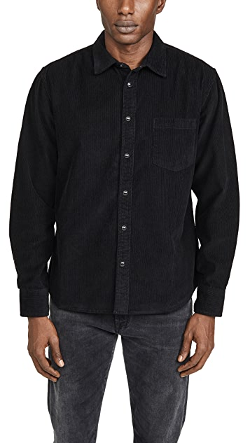 Corridor Snap Corduroy Long Sleeve Shirt