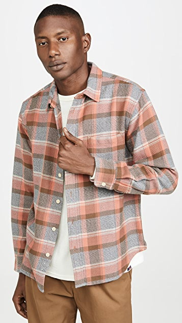 Corridor Blanket Plaid Long Sleeve Shirt