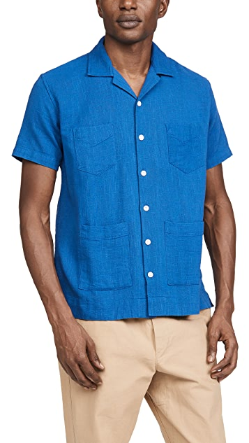Corridor Slub Indigo 4 Pocket Shirt