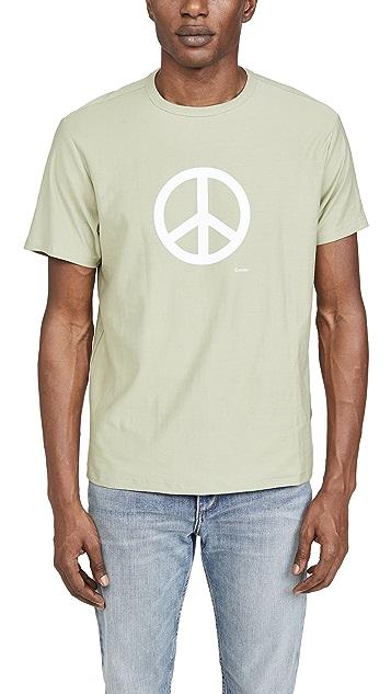 Corridor Peace Sign Tee