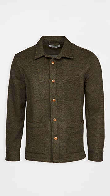 Corridor Lambswool Heavyweight Shirt Jacket