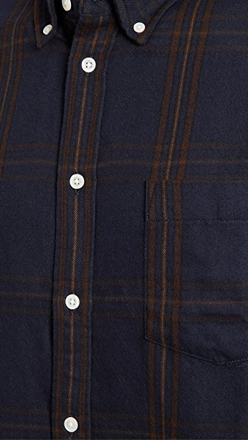 Corridor Big Check Flannel Shirt