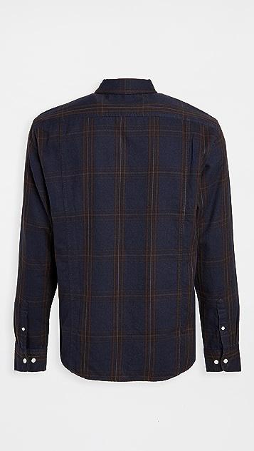 Corridor Big Check Flannel Shirt